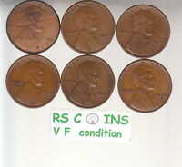 1925S 1926S 1927S 1928S 1929S 1930S    FINE  LINCOLN CENTS FREE SHIP 2737