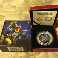 FINE SILVER GLOW IN THE DARK COIN  STAR CHARTS: THE QUEST  MINT: 7 500  2015