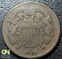 1865 2 CENT PIECE  --  MAKE US AN OFFER  Y3463