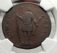 1788 POST COLONIAL MASSACHUSSETS FIRST UNITED STATES CENT COIN INDIAN NGC I58128