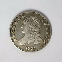 1831 CAPPED BUST DIME XF EXTRA FINE M 57