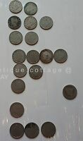 LOT OF 19 LIBERTY V NICKELS NICKEL COIN UNITED STATES CENTS