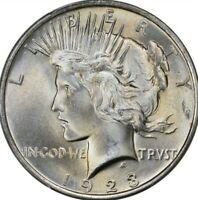 1923 PEACE SILVER DOLLAR BRILLIANT UNCIRCULATED   BU