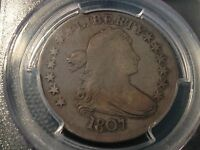 1807  PCGS  F-12  EARLY DRAPED BUST HALF DOLLAR   LOOKS BETTER