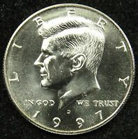 1997 D UNCIRCULATED KENNEDY HALF DOLLAR BU B02