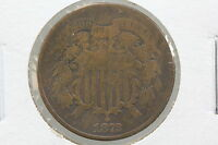1872 TWO CENT F