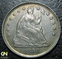 1858 SEATED DIME      MAKE US AN OFFER  W3920 ZXVC