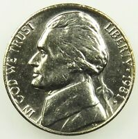 1981 P UNCIRCULATED JEFFERSON NICKEL BU B01