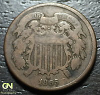 1865 2 CENT PIECE      MAKE US AN OFFER  O1563
