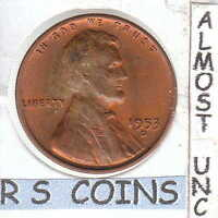 1953D  ALMOST UNC PLUS  LINCOLN CENT  LOW PRICE FOR THIS R COIN 1716