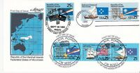 MARSHALL ISLANDS JOINT ISSUE DUAL CANCEL 1990