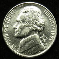 1991 D UNCIRCULATED JEFFERSON NICKEL BU B04