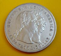 UNITED STATES 1900 1 DOLLAR  LAFAYETTE COMMEMORATIVE SILVER COIN 36026 MINTED RR