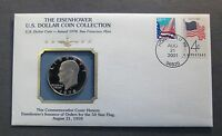1978 S  EISENHOWER IKE U.S. DOLLAR COIN COLLECTION  COVER & STAMP    PCS
