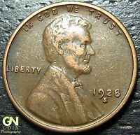 1928 S LINCOLN CENT WHEAT PENNY      MAKE US AN OFFER  G2768