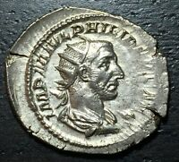 244 249 AD ROMAN SILVER PHILIP      MAKE US AN OFFER  O4243