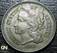 1868 3 CENT NICKEL PIECE      MAKE US AN OFFER  G2160