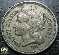 1868 3 CENT NICKEL PIECE      MAKE US AN OFFER  G2168