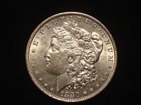 1880 O  MORGAN DOLLAR  UNCIRCULATED  BU/MS  90 SILVER