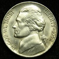 1952 S UNCIRCULATED JEFFERSON NICKEL BU B02