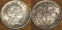 1897 SILVER COLOMBIA COIN 10 CENTAVOS AU 1600 2011 COIN BOOKS CAT DVD PDF FREE