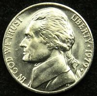 1979 D UNCIRCULATED JEFFERSON NICKEL BU B05