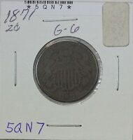 1871 TWO CENT G