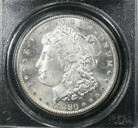 1880 S MORGAN SILVER DOLLAR / PCGS MS64 /BRILLIANT UNCIRCULATED /GREAT LUSTER
