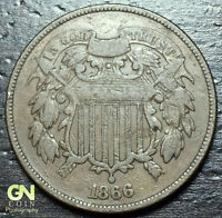 1866 2 CENT PIECE  --  MAKE US AN OFFER  Y6706