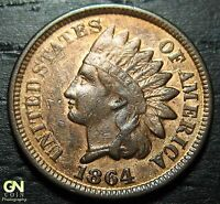 1864 INDIAN HEAD CENT      MAKE US AN OFFER  O3400