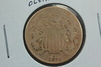 1870 TWO CENT AG OLD CLEANING
