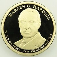 2014 S DEEP CAMEO PROOF WARREN G. HARDING PRESIDENTIAL DOLLAR B06