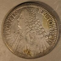 1769 RAGUSA ITALY STATE TALLERO SILVER CIRCULATED COIN    FREE U.S SHIPPING
