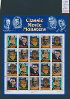 XA65590 USA 1996 CLASSIC MOVIE MONSTERS XXL MNH FACE VALUE 6,4$