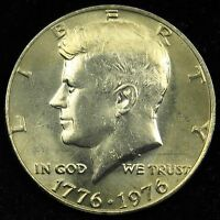 1976 UNCIRCULATED KENNEDY HALF DOLLAR BU B02