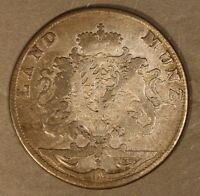 1766 GERMAN STATE BAVARIA 4 GROSCHEN SILVER CIRCULATED   FREE U.S. SHIPPING