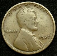 1923 LINCOLN WHEAT CENT PENNY G GOOD B01