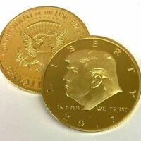 2016  DONALD TRUMP REPUBLICAN US GOLD EAGLE COLLECTION GIFT COIN IN CAPSULE