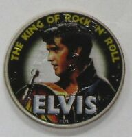 2013 KENNEDY HALF DOLLAR COLORIZED WITH ELVIS