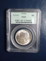 1936 ELGIN PCGS MINT STATE 65 COMMEMORATIVE HALF DOLLAR GEM 50C COIN OGH BUY IT NOW