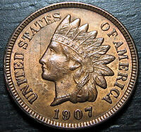 1907 INDIAN HEAD CENT      MAKE US AN OFFER O3679