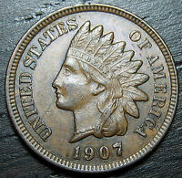 1907 INDIAN HEAD CENT      MAKE US AN OFFER O3673