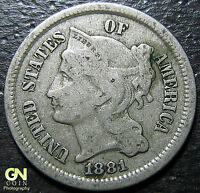 1881 3 CENT NICKEL PIECE      MAKE US AN OFFER  Y5137