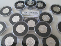 UK ROYAL MINT & POBJOY MINT SILVER PROOF 1 COIN ENCAPSULATED WITH COA