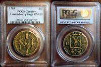 1795 LUXEMBOURG CAST SIEGE SOL PCGS CERTIFIED