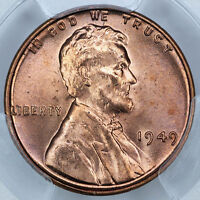 1949 PCGS MS65RD LINCOLN CENT