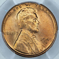 1949 D PCGS MS66RD LINCOLN CENT