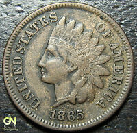 1865 INDIAN HEAD CENT  --  MAKE US AN OFFER  Y7519