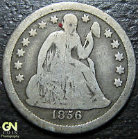 1856 P SEATED LIBERTY DIME  --  MAKE US AN OFFER  Y4810