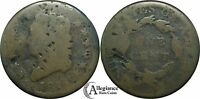 1814 1C CLASSIC HEAD LARGE CENT AG DETAIL SOLID CHEAP  OLD TYPE COIN MONEY